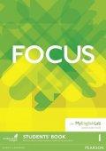 Uminska Marta: Focus BrE 1 Students´ Book w/ MyEnglishLab Pack