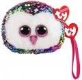neuveden: TY Fashion Sequins peněženka s otočnými flitry OWEN - sova