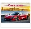 neuveden: Kalendář nástěnný 2022 - Cars