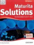 Falla Tim, Davies Paul A.: Maturita Solutions Pre-Intermediate Student´s Book 2nd (CZEch Edition)