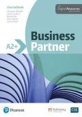 O´Keefe Margaret: Business Partner A2+ Coursebook with Basic MyEnglishLab Pack