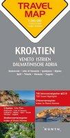 neuveden: Chorvatsko / Istrie / Dalmácie    1:300T