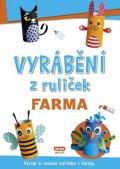 neuveden: Vyrábění z ruliček FARMA + samolepky