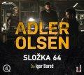 Adler-Olsen Jussi: Složka 64 - 2 CDmp3 (Čte Igor Bareš)