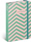 neuveden: Notes - Think Of Me, linkovaný, 10,5 x 15,8 cm