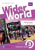 Barraclough Carolyn: Wider World 3 Students´ Book w/ MyEnglishLab Pack