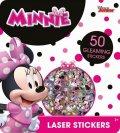 neuveden: Minnie - Super třpytivé samolepky