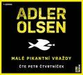 Adler-Olsen Jussi: Malé pikantní vraždy - CDmp3 (Čte Petr Čtvrtníček)