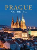 neuveden: Kalendář nástěnný 2020 - Praha / Prague / Prag 24,5 x 34 cm