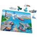 neuveden: Puzzle MAXI - Město + přístav/35 dílků