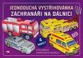 neuveden: Záchranáři na dálnici - Jednoduchá vystřihovánka