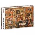 neuveden: Puzzle Zoffany - Tribuna of the Uffizi 1000 dílků