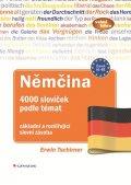 Tschirner Erwin: Němčina 4000 slovíček podle témat - základní a rozšiřující slovní zásoba