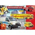 neuveden: Záchranářská auta - Jednoduché vystřihovánky