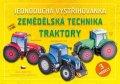 neuveden: Zemědělská technika TRAKTORY - Jednoduchá vystřihovánka