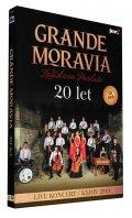 neuveden: Grande Moravia 20 let - CD + DVD