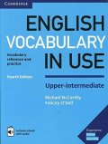 McCarthy Michael, O'Dell Felicity,: English Vocabulary in Use Upper-Intermediate Book with Answers and Enhanced