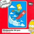 neuveden: The Simpsons: Bart na snowboardu/Mini puzzle