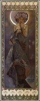 neuveden: Blahopřání Alfons Mucha – The Moon