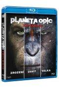neuveden: Planeta opic - Trilogie Blu-ray