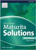 Falla Tim, Davies Paul A.: Maturita Solutions Elementary Student´s Book 3rd (CZEch Edition)