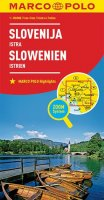 neuveden: Slovinsko, Istrie 1:300T//mapa(ZoomSystem)MD