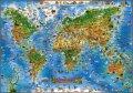 neuveden: Živočichové celého světa - Ilustrovaná mapa pro děti