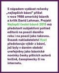 Borkovec Petr, Gabriel Tomáš,: Nejlepší české básně 2015