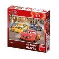 Disney Walt: Auta: Veselý Blesk - Maxi puzzle 24 dílků
