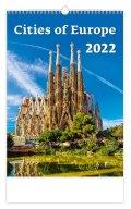 neuveden: Kalendář nástěnný 2022 - Cities of Europe