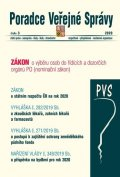 neuveden: PVS 3/2020 Nominační zákon - Státní rozpočet ČR na 2020, Zkoušky lékařů, zu