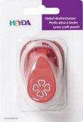 neuveden: HEYDA ozdobná děrovačka 3D velikost S - čtyřlístek 1,7 cm