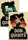 de Cervantes Miguel: Don Quijote (Dva svazky)