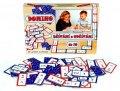 neuveden: Domino sčítání a odčítání do 10 - společenská hra 60 ks v krabici