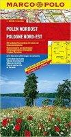 neuveden: Polsko Nordost / mapa 1:300T  MD