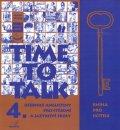 Peters Sarah, Gráf Tomáš: Time to talk 4 - kniha pro učitele