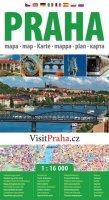 neuveden: Praha - plán města  1:16 000