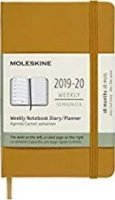 neuveden: Moleskine: Plánovací zápisník 2019-2020 tvrdý žlutý S