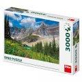 neuveden: Ledovce v Montaně: puzzle 3000 dílků