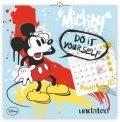 neuveden: Kalendář - W. Disney Mickey Mouse omalovánkový - nástěnný (CZ, SK, HU, GB)
