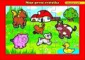 neuveden: Puzzle deskové Moje první zvířátka farma / 24 dílků