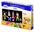 neuveden: Magnetické puzzle Děti v krabici