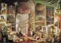 neuveden: Pannini: Galerie obrazů s pohledy na Řím - Puzzle/1500 dílků