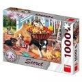 neuveden: Štěňata: secret collection puzzle 1000 dílků