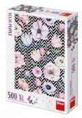 neuveden: Puzzle Květy 500 dílků