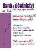 neuveden: DaÚ 1/2020 Ukončení roku - daň z příjmů , Zákon o EET - novela