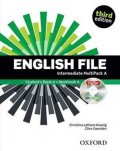 Latham-Koenig Christina; Oxenden Clive: English File Intermediate Multipack A (3rd) without CD-ROM