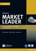 Cotton David: Market Leader 3rd Edition Elementary Coursebook w/ DVD-ROM/ MyEnglishLab Pa