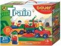 neuveden: Stavebnice BAUER: Train Vláčky 271 dílů