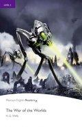 Wells Herbert George: PER | Level 5: War of the Worlds Bk/MP3 CD